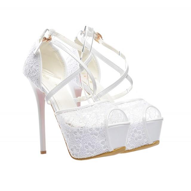 Sandale de mireasa Boema